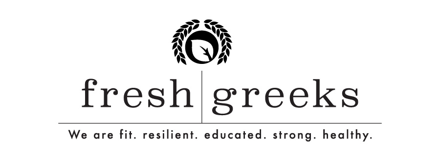 Fresh Greeks logo graphic